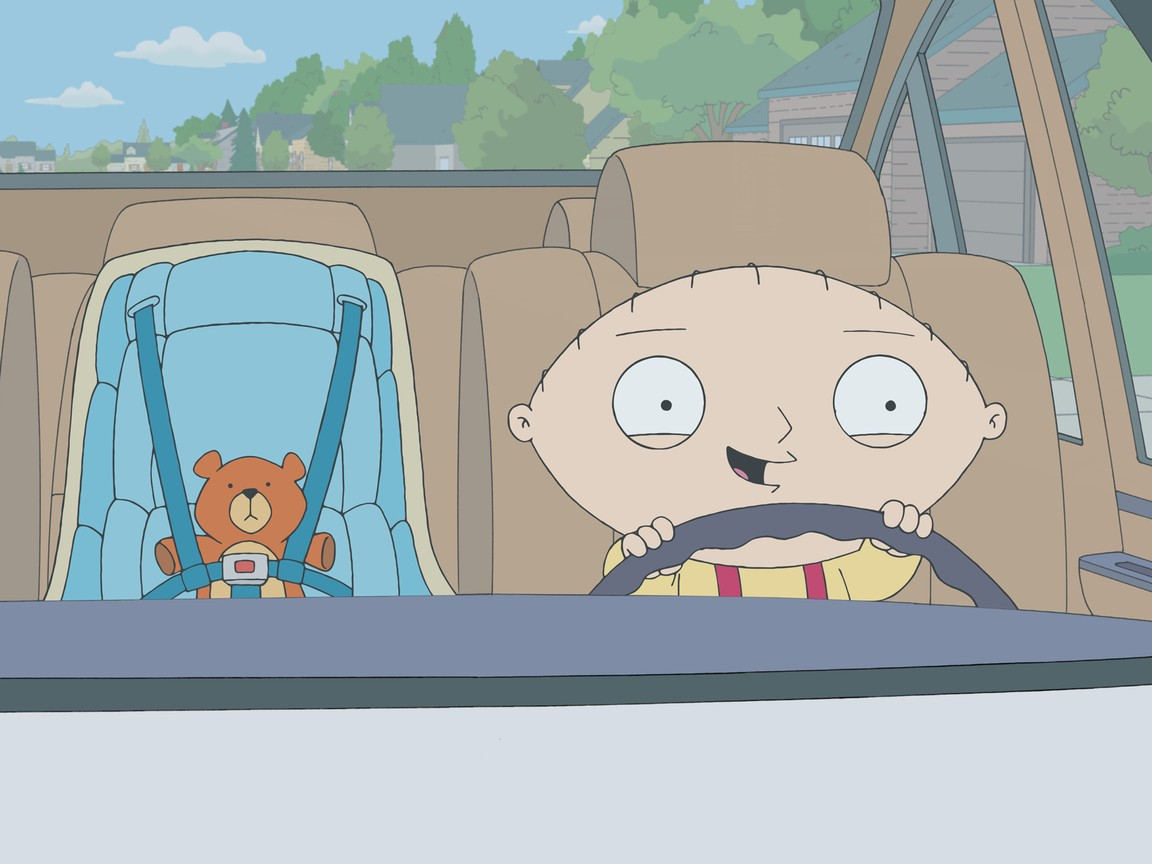 Family Guy - Season 10 Episode 4: Stewie Goes for a Drive