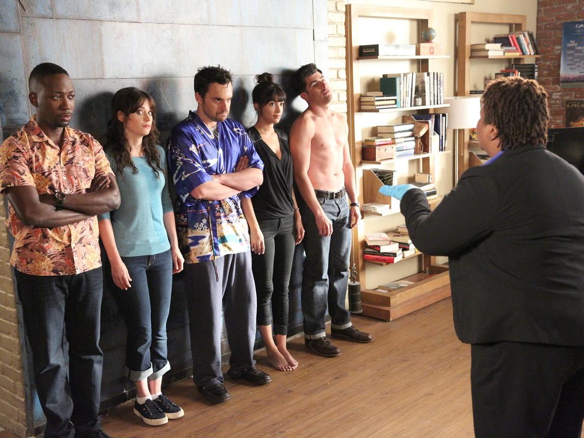New Girl - Season 4 Episode 06: Background Check