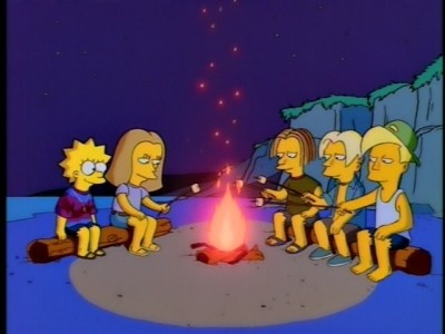 The Simpsons - Season 7 Episode 25: Summer of 4 ft. 2