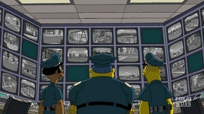 The Simpsons - Season 21 Episode 20: To Surveil With Love