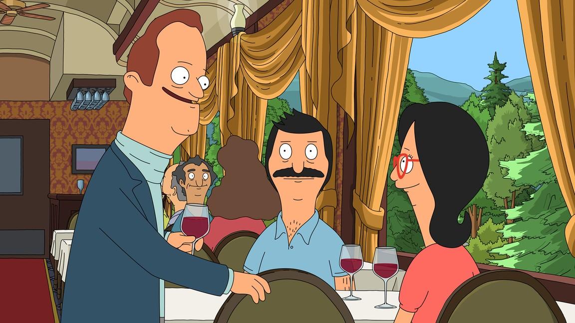 Bob's Burgers - Season 4 Episode 15: The Kids Rob a Train
