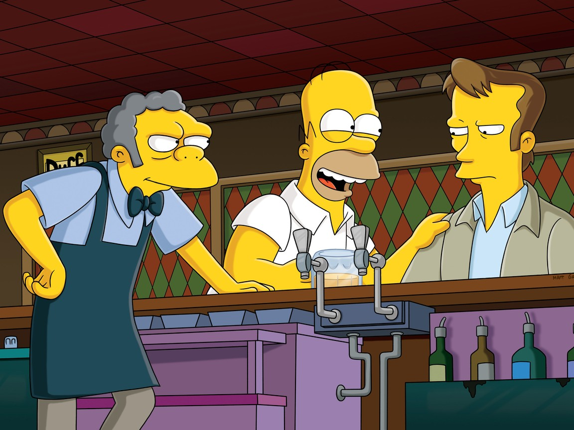 The Simpsons - Season 23 Episode 1: The Falcon And The D'ohman