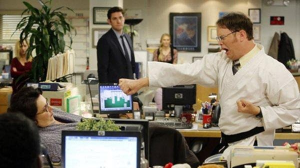 The Office - Season 9 Episode 20: Paper Airplane