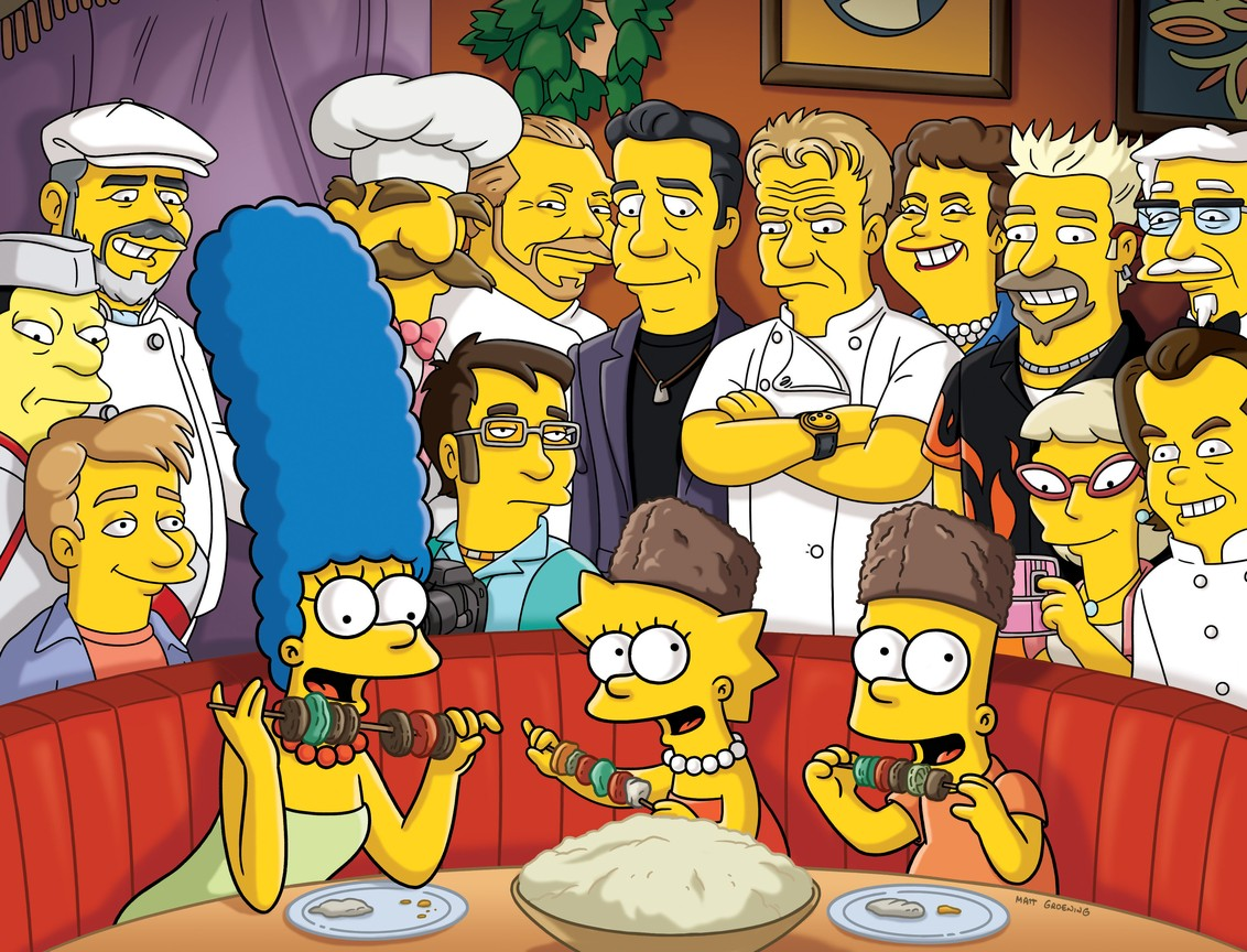 The Simpsons - Season 23 Episode 5: The Food Wife