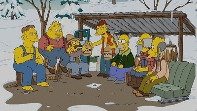 The Simpsons - Season 21 Episode 7: Rednecks and Broomsticks