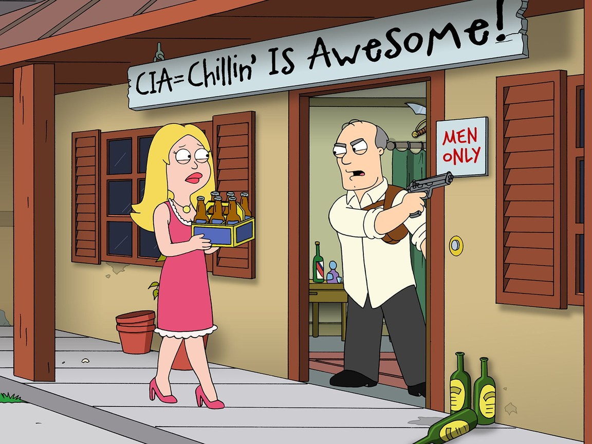 American Dad - Season 4 Episode 9: Stan Time