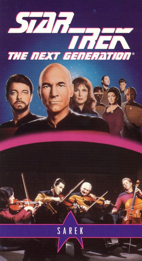 Star Trek: The Next Generation - Season 3 Episode 23: Sarek