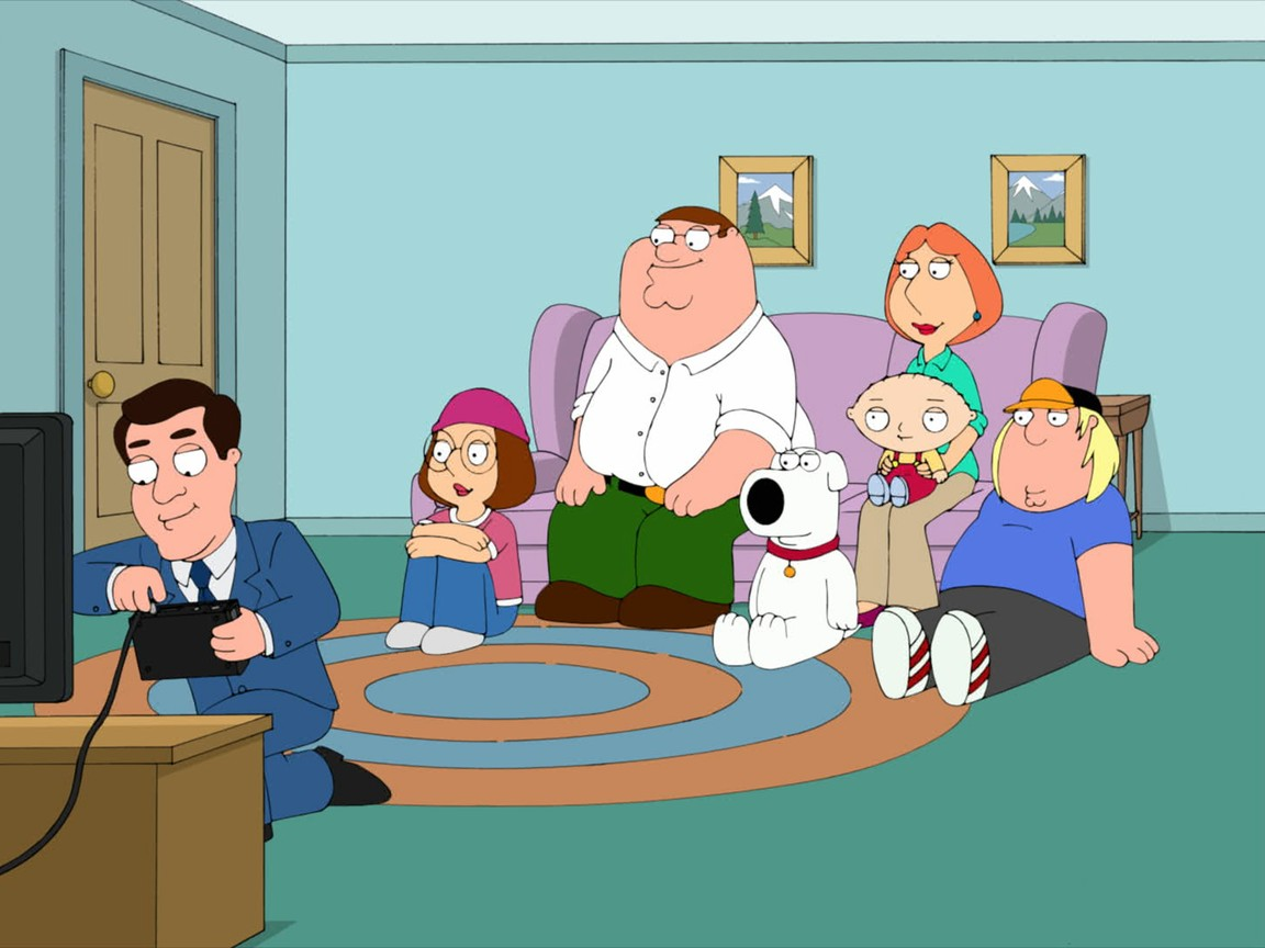 Family Guy - Season 11 Episode 2: Ratings Guy