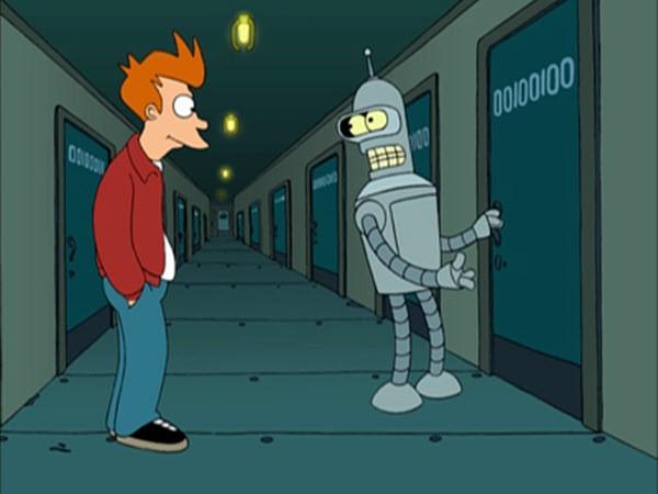 Futurama - Season 1 Episode 03: I, Roommate