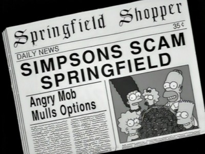 The Simpsons - Season 9 Episode 10: Miracle on Evergreen Terrace