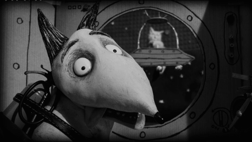 Captain Sparky vs. The Flying Saucers (FrankenWeenie)