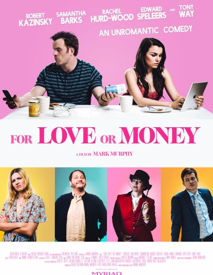 For Love or Money (The Revenger: An Unromantic Comedy)