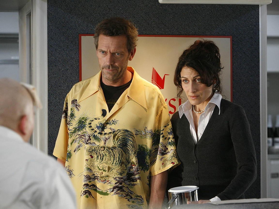 House M.D. - Season 3 Episode 18: Airborne