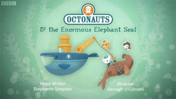 The Octonauts - Season 1 Episode 39: The Enormous Elephant Seal