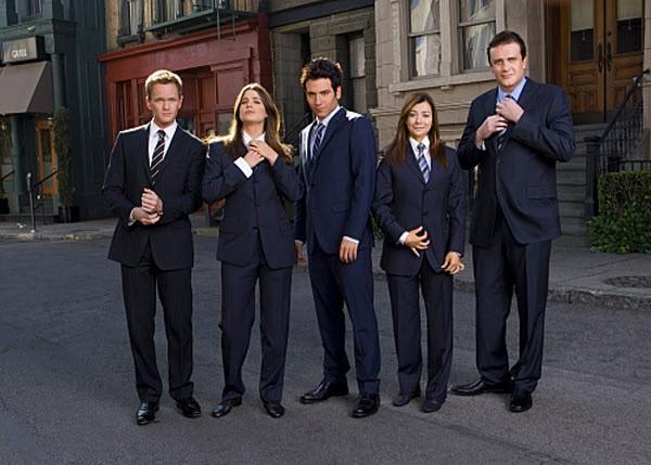 How I Met Your Mother - Season 5 Episode 12: Girls vs. Suits