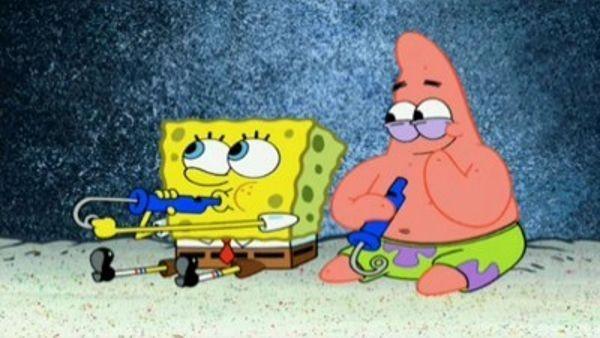 SpongeBob SquarePants - Season 6 Episode 10: Slide Whistle Stooges