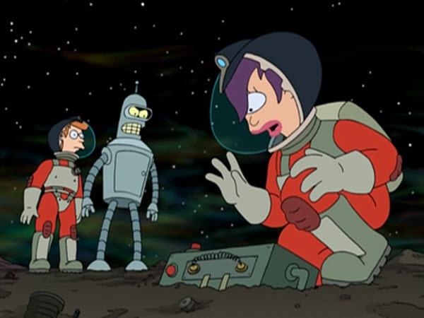 Futurama - Season 1 Episode 08: A Big Piece Of Garbage